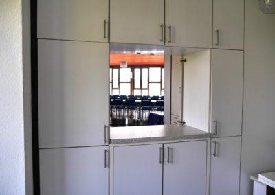 Küche-Saal