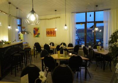 Blick ins Cafe