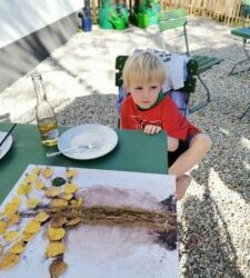 Bilder malen mit den DGH (Grundschul) -Kids